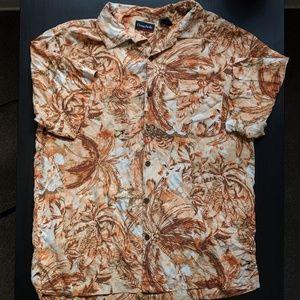 Vintage 100% Silk Dress Shirt